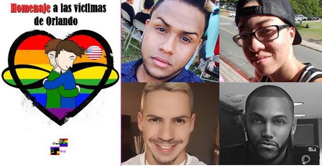 Homenaje a las víctimas de Orlando