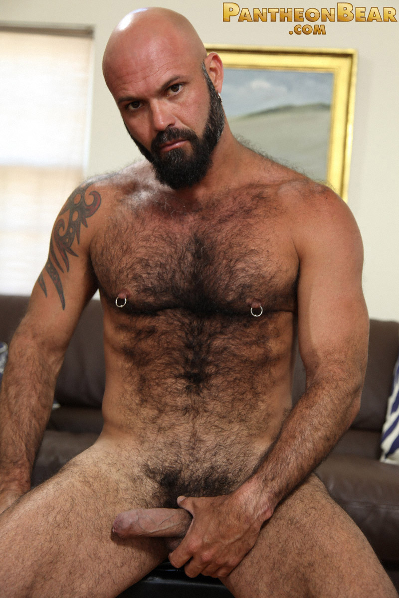 Hairy Hunk Marco Rios Jerks Off  Hairy Guys In Gay Porn-1185