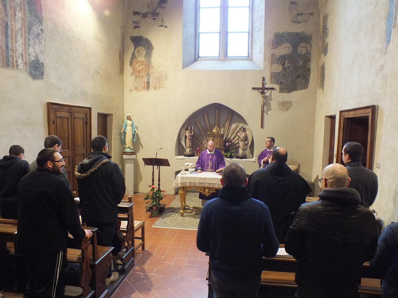 Frati in Cammino - Assisi: FINALMENTE...FRATI IN CAMMINO!