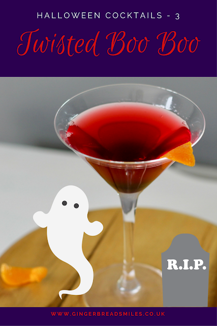 Twisted Boo Boo - Halloween Cocktails