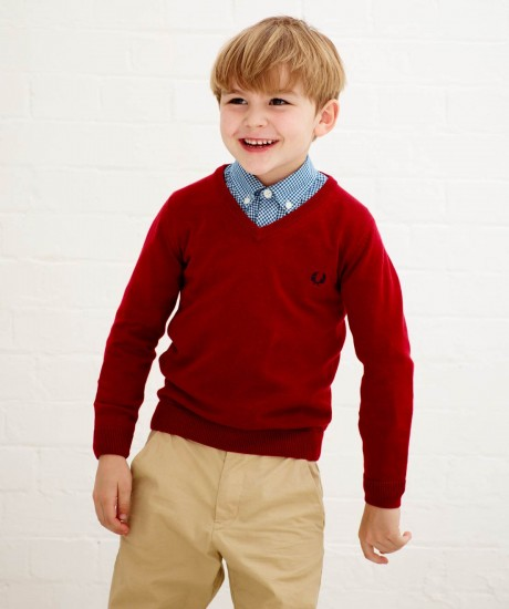 0b649a0ca5eb6 Collection Fred Perry Junior - Automne/hiver 2012-2013   Kid Dit Mode