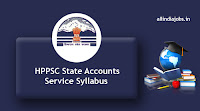 HPPSC State Accounts Service Syllabus