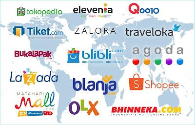 15 Tempat belanja online yang bisa dipercaya