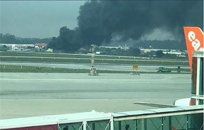 Explosão em fábrica junto ao aeroporto do Porto (Sá Carneiro) faz 5 feridos