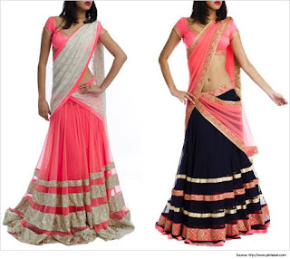 Traditional-indian-bridal-half-saree-designs-for-weddings-3