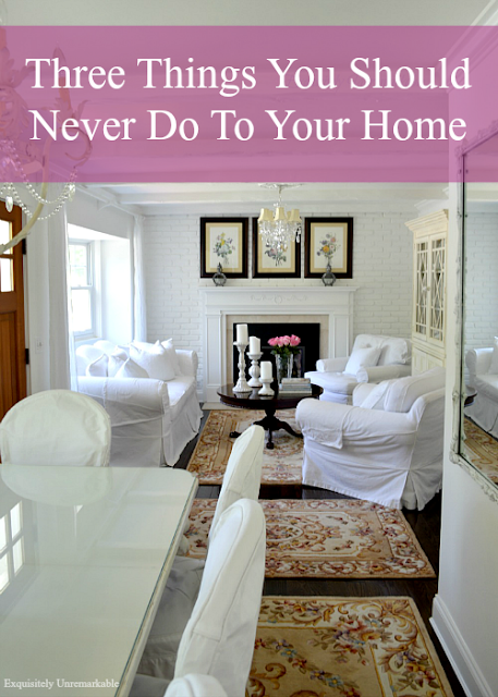 Three Things You Should Never Do To Your Home For Resale