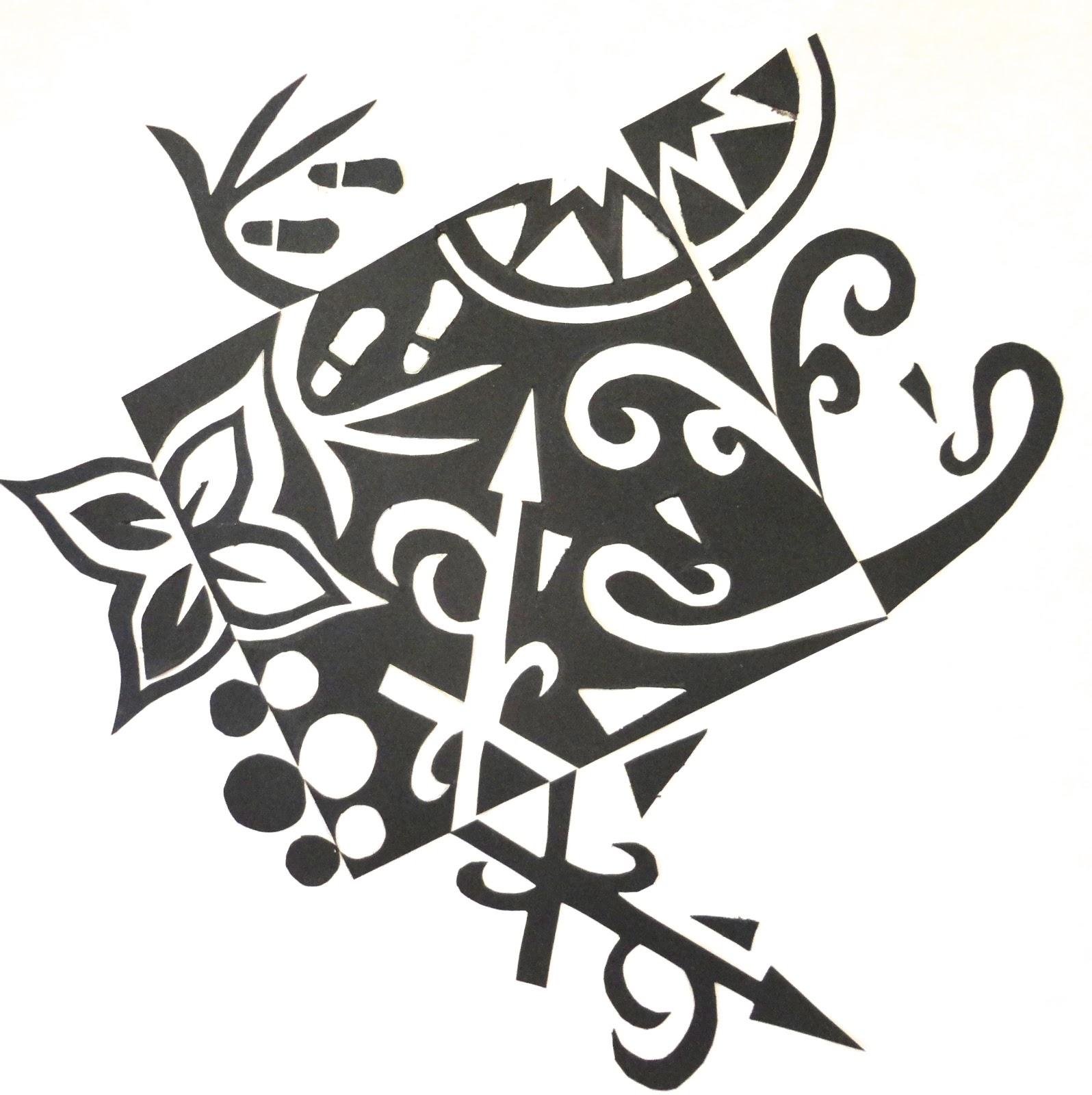 Art Mash More Notan Designs
