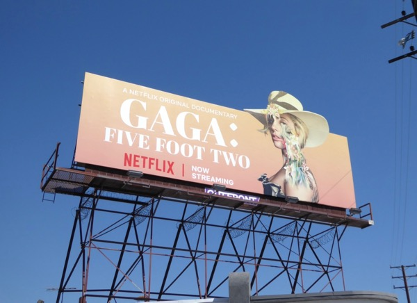 Gaga Five Feet Two special extension billboard