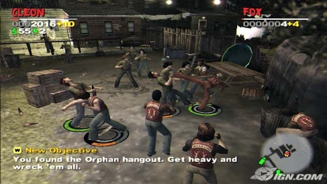 Download The Warriors PS2 zona-games.com