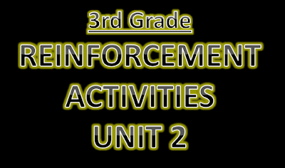 Reinforcement Activities Unit 2