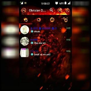 Droid Chat! 9.5.11 Legend of Fire BBM 2.13.1.13