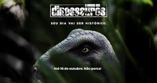 Exposição Dinossauros Shopping Diamondmall 2016