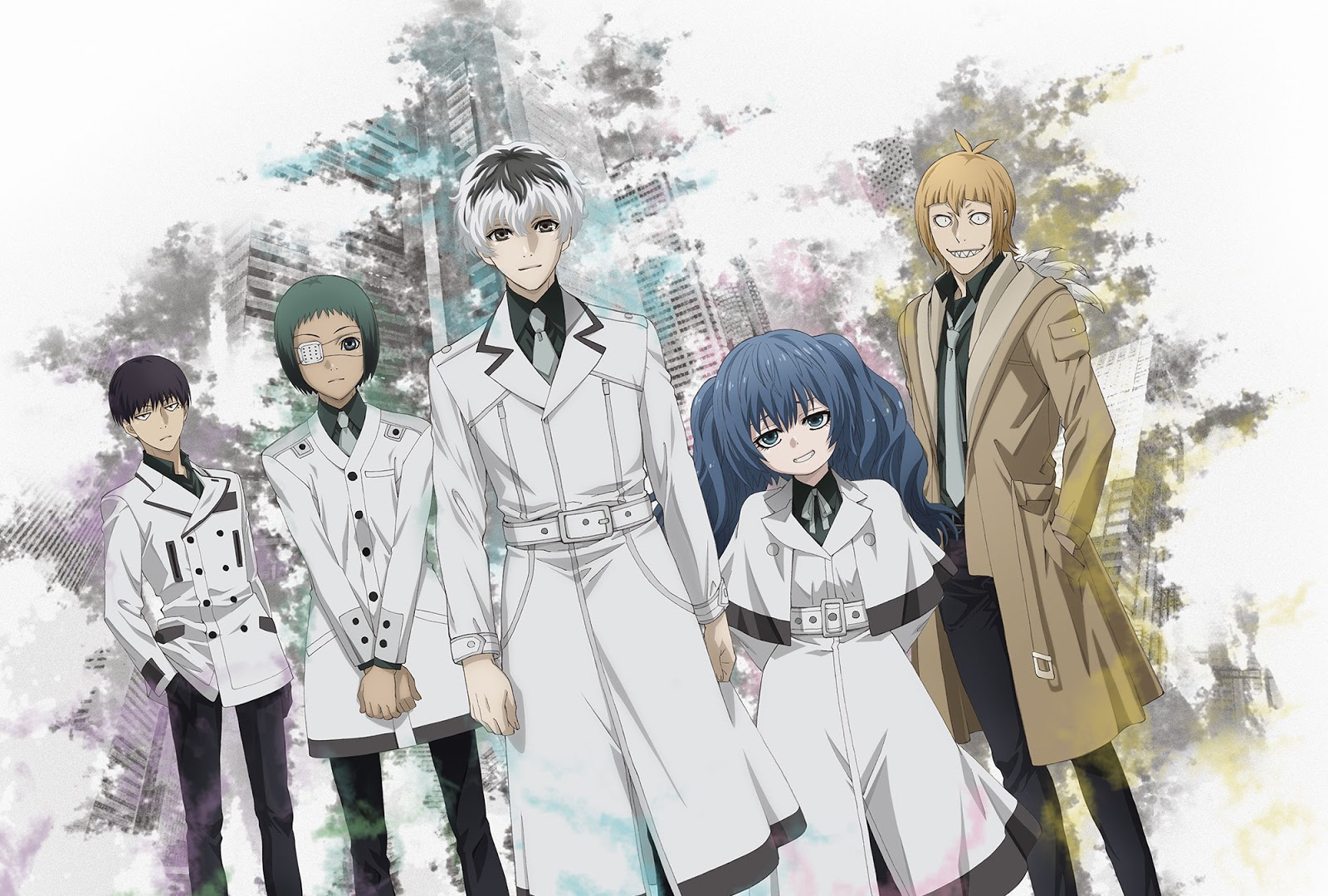 Tokyo Ghoul Re Anime Visual 2