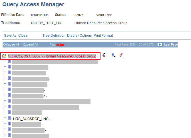 Adding queries into Query Security Tree in PeopleSoft