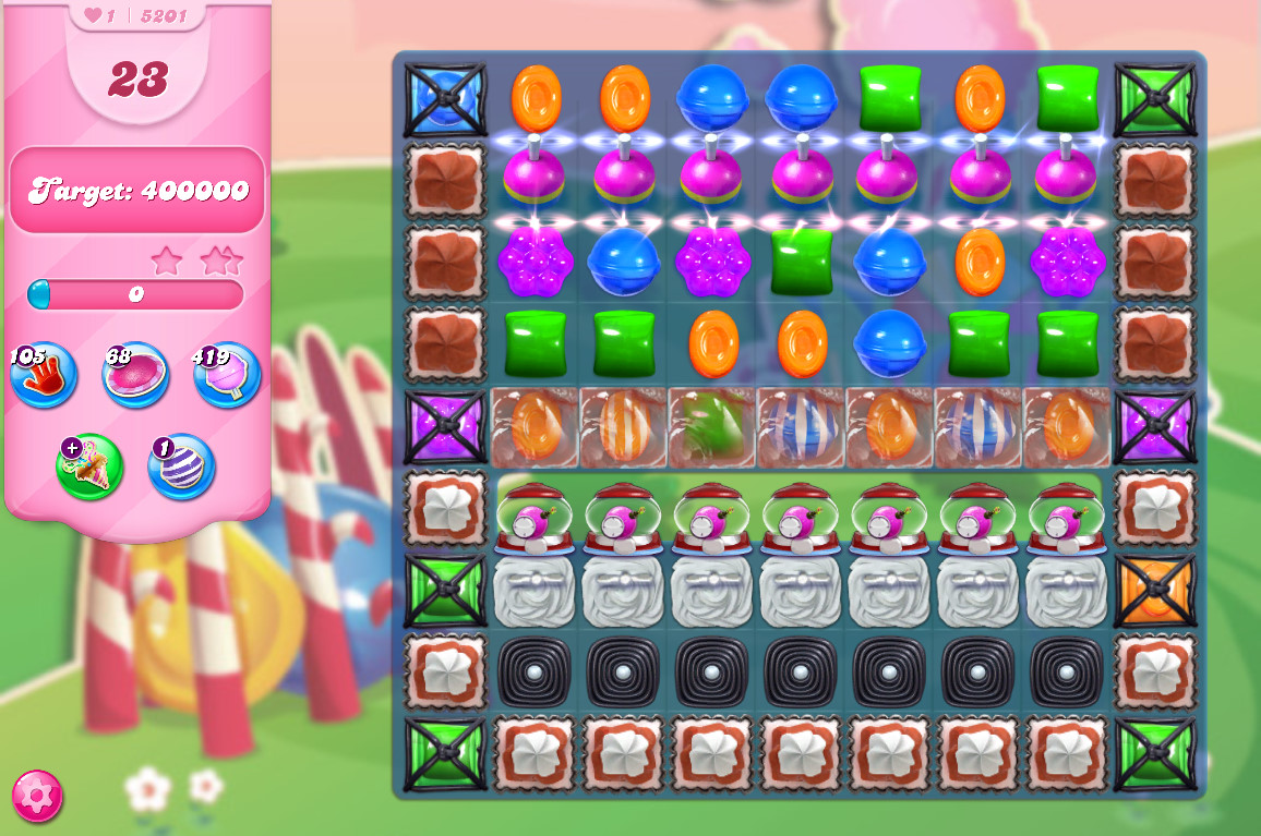 Candy Crush Saga level 5201