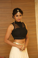 Roshni Prakash in a Sleeveless Crop Top and Long Cream Ethnic Skirt 098.JPG