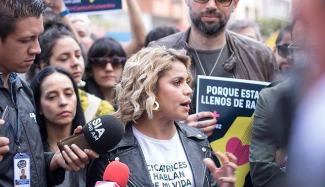 «No me van a callar»: @AdrianaLucia responde a uribistas que la critican por apoyar concierto en contra de Duque