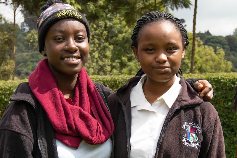 Uhuru Academy Students Volunteering in Kenya with Freedom Global
