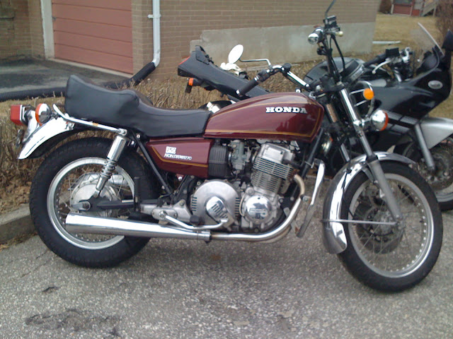 Honda CB750 Specification