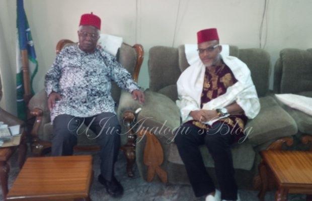 Biafra: I will obey former Vice President, Ekwueme – Nnamdi Kanu