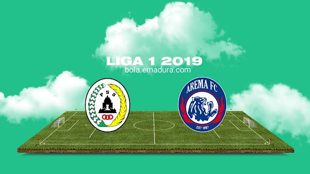 Tiket online pss sleman vs arema fc di Liga 1 2019