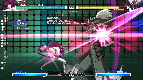 UNDER NIGHT IN-BIRTH Exe:Late (USA) PC Screenshots #1