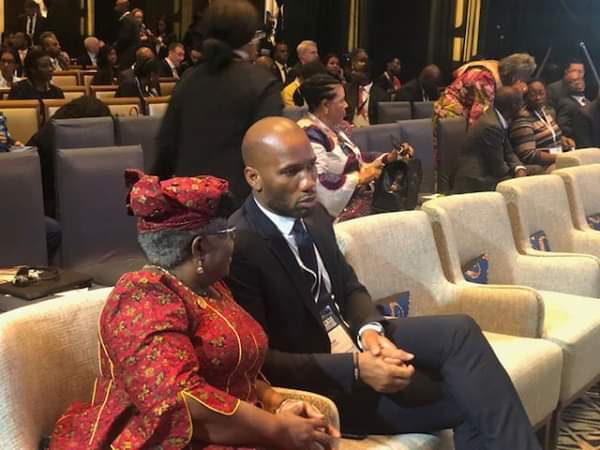 Drogba, Ngozi Okonjo-Iweala  present at Launch Of New Africa Business In Addis Ababa