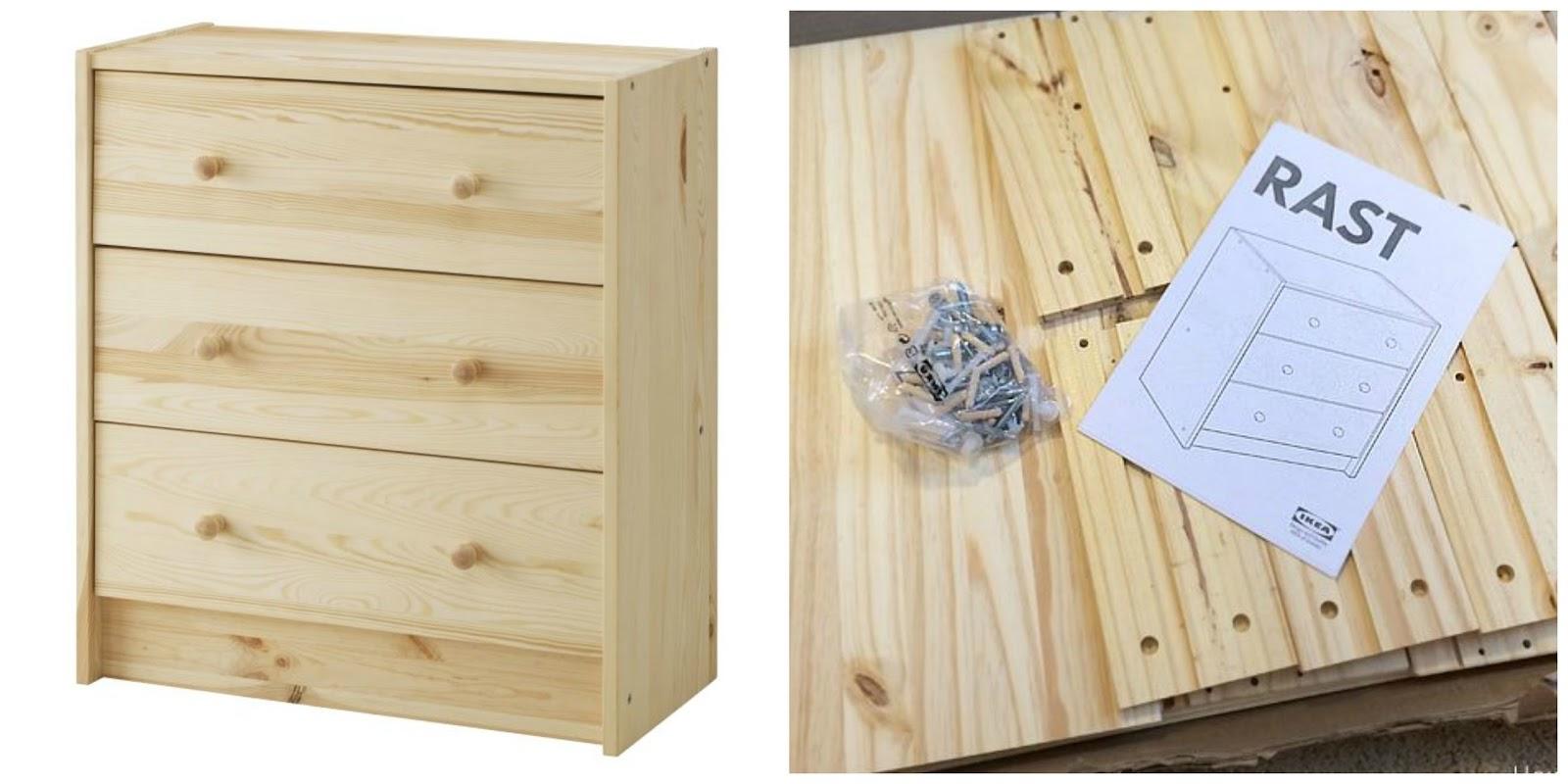 10 estupendas ideas para personalizar tu comoda rast de - Ikea mesillas y comodas ...