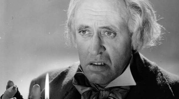 Alastair Sim in Scrooge (1951) AKA: A Christmas Carol
