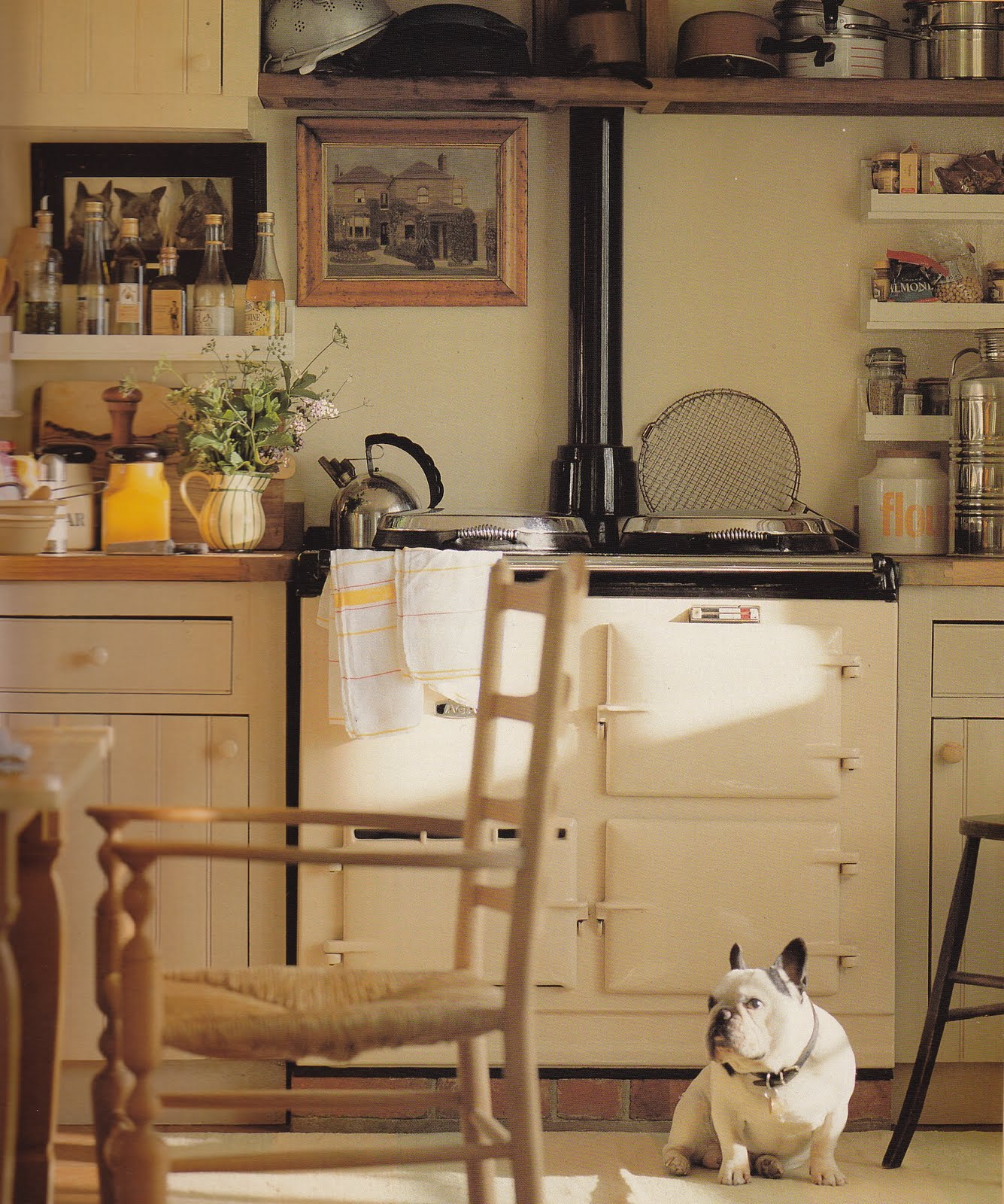 English Cottage Kitchen Designs: Rosemarsh Knits: English Cottages And A French Bulldog