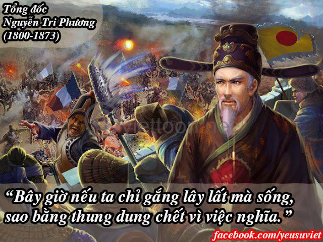 13 câu nói đáng nhớ nhất trong lịch sử Việt Nam, yêu sử việt, lịch sử việt nam, lịch sử việt nam qua các thời kỳ, nguyễn tri phương
