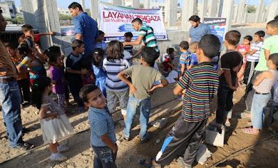 bantuan buka puasa dan sahur di gaza