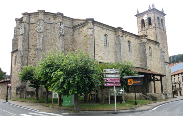 Església d'Idiazabal