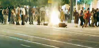 Report: Charlotte Protesters Tried to Throw Photographer Into a Fire