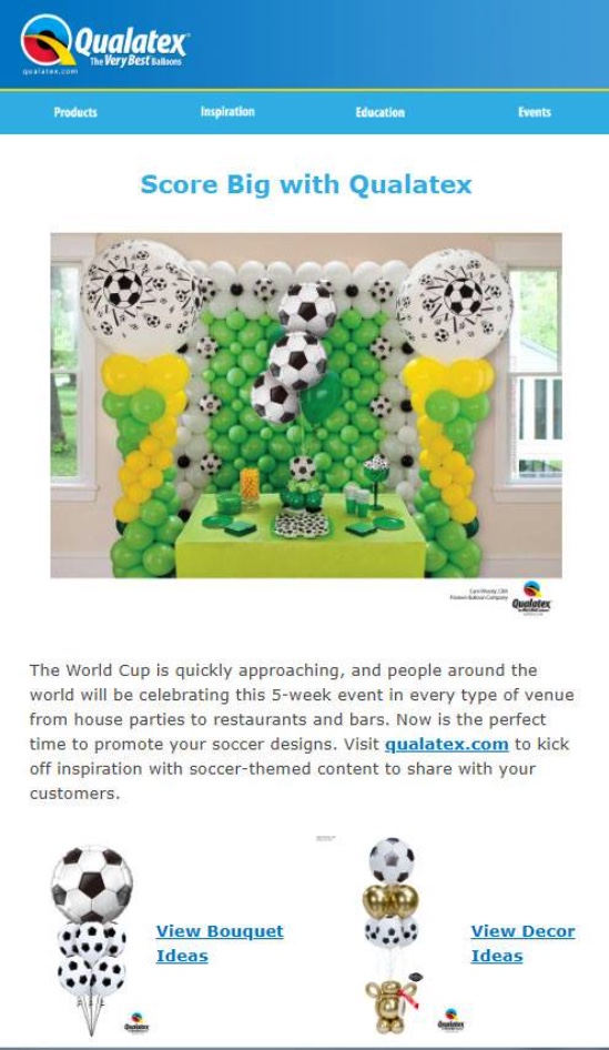 The Very Best Balloon Blog: World Cup Fever Is Here Until The 15th
