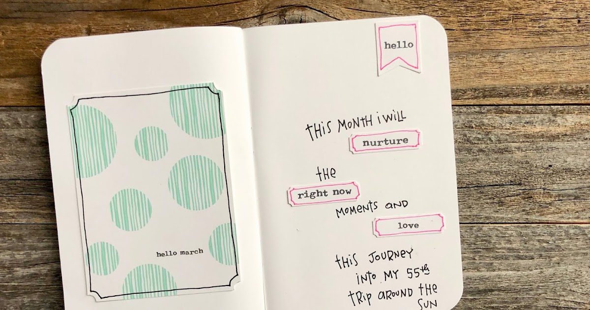I Love It All: Hello March in My Travelers Notebook