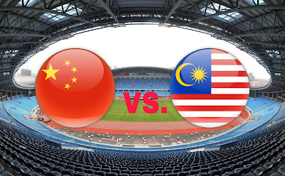 Live Streaming China PR vs Malaysia B-23 Friendly Match 5.8.18