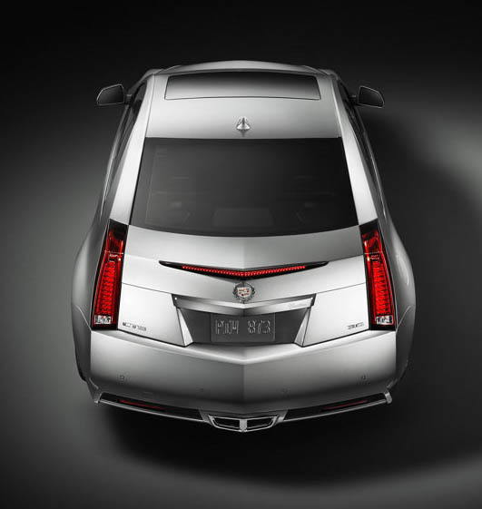 Cadillac CTS Coupe, 2011