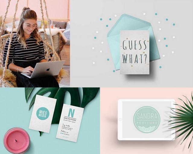 Girlboss interview met graphic designer Mercedes Francis van der Klooster grafisch ontwerper MIESMEDIA design jonge ondernemer