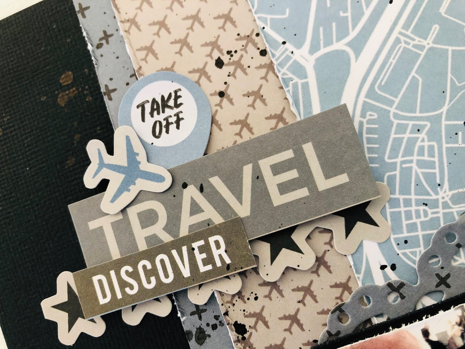 Well Traveled NEW!! Websters Pages Charm Embellishment