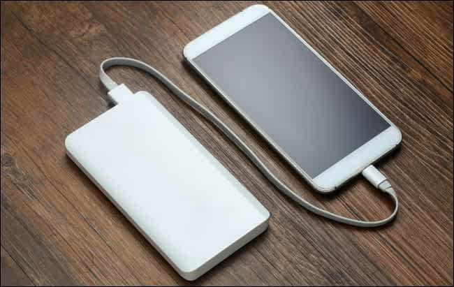 Caricare da una batteria portatile
