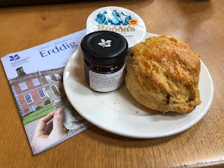 Erddig National Trust scone