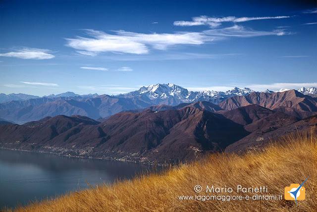 Lago Maggiore e monte Rosa