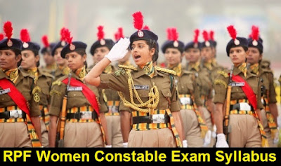 RPF Women Constables Exams Syllabus & Paper Pattern 2017