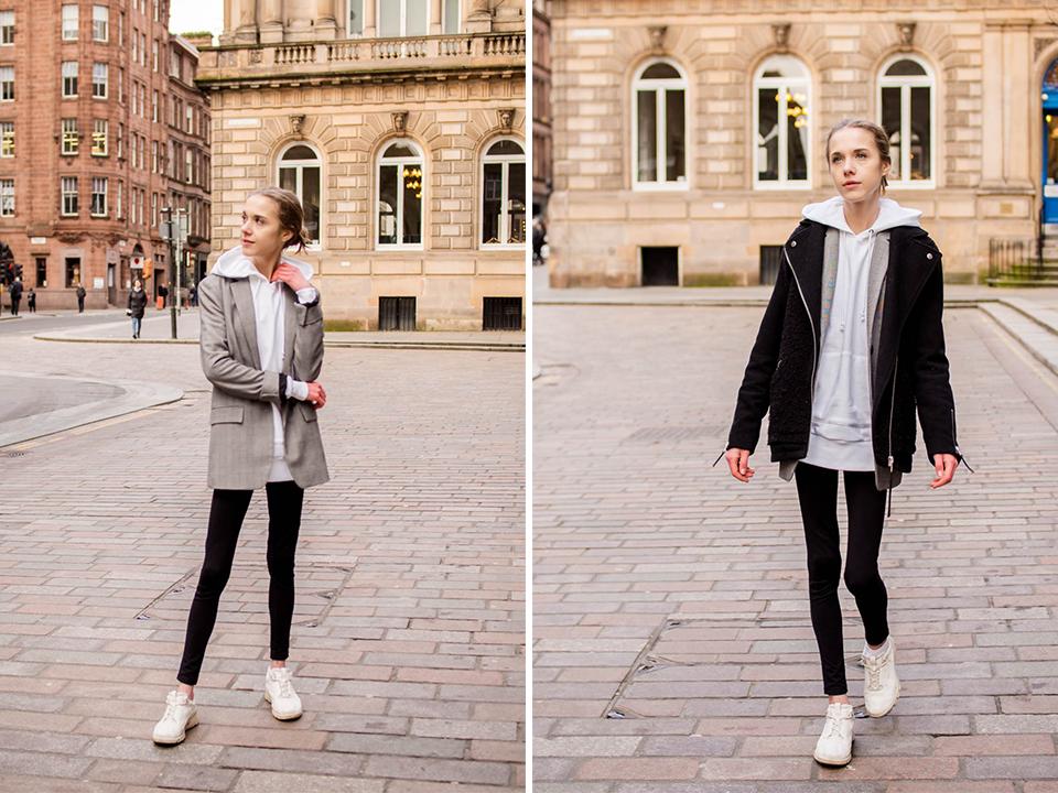 Minimal athleisure street style inspiration - Minimalistinen ja skandinaavinen sporttimuoti