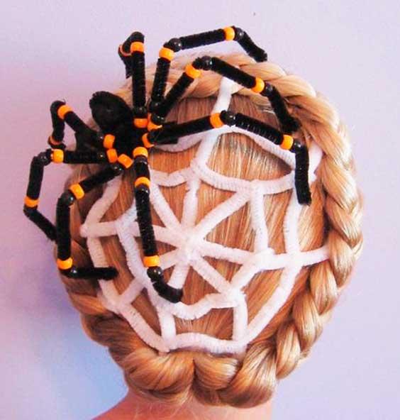 Penteados Halloween idéias