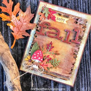 http://sewpaperpaint.blogspot.com/2018/09/tim-holtz-forest-foliage-mushrooms-fall.html