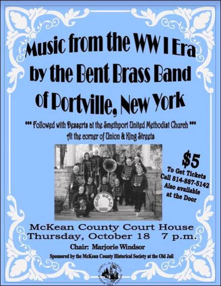 10-18 Brass Band, Courthouse, Smethport