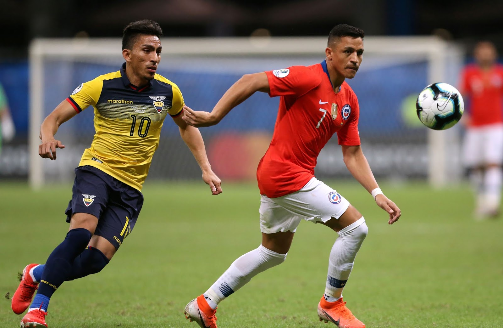 Ecuador y Chile en Copa América 2019, 21 de junio