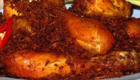 Resep Ayam Goreng Kremes, Kalasan, Ungkep, ayam gulai Bumbu Kuning, Lengkuas Dan Kecap